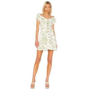 Free People A Thing Called Love Linen Blend Mini D